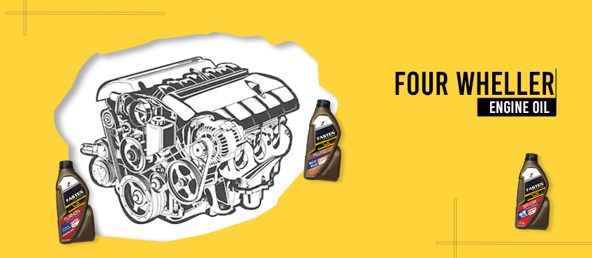 Four-wheeler-engine-oil