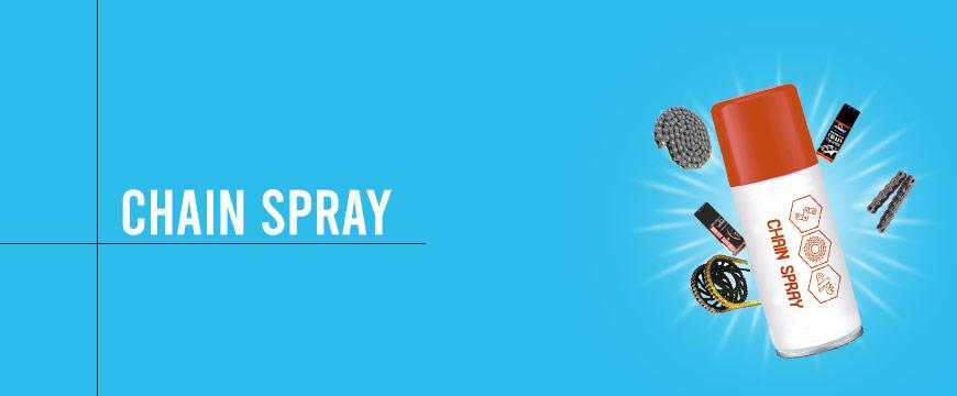 Chain-spray