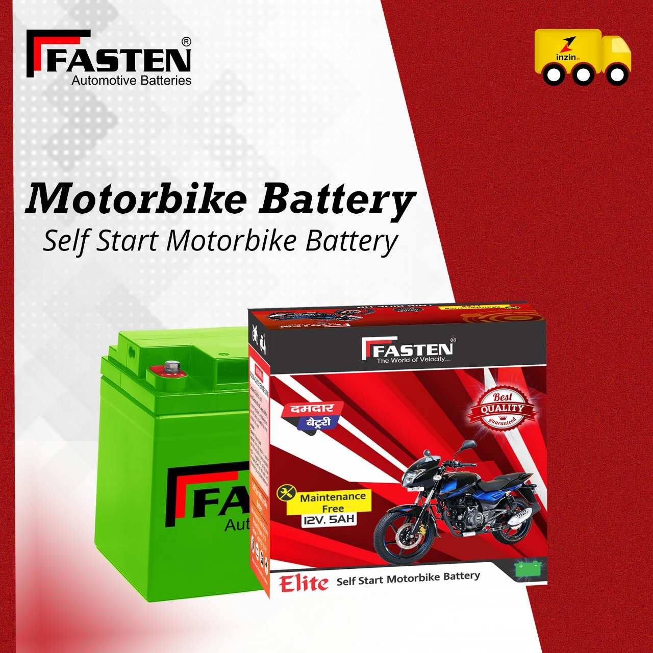 Automotive Battery Brands in India