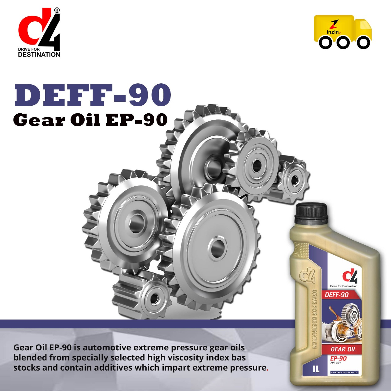 Extreme Pressure Gear oil Manufacturers