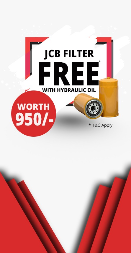 Free Jcb Filters With Hydraulic oil