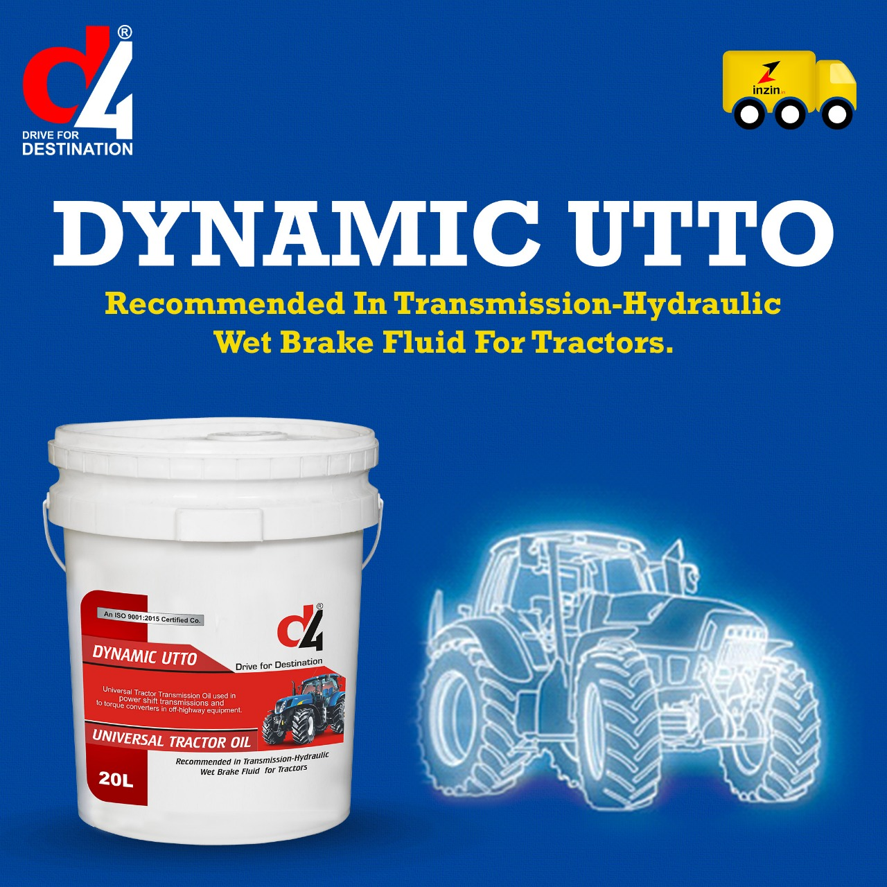 Dynamic Utto Tractor Engine Oil