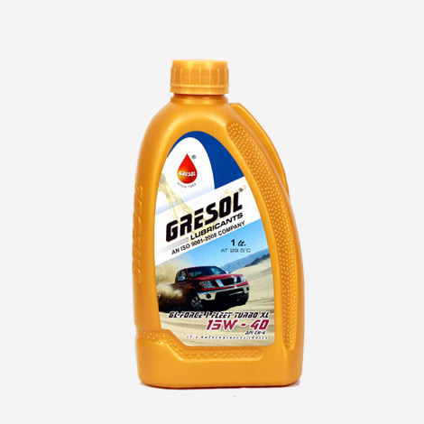 Gresol Turbo XL 15W40 Engine Oil