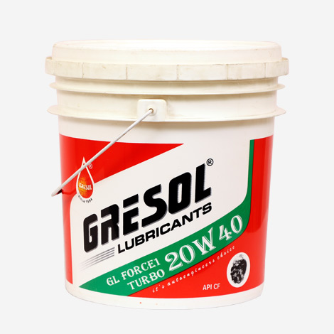 Gresol GL Force 1 20W40 Engine Oil