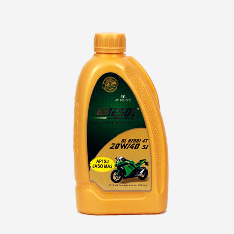 Gresol 20W40 SJ Bike Engine Oil
