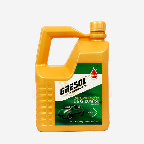 Gresol GL-Star Power 20W50 API SJ/CF CNG Oil