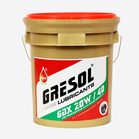 Gresol GDX 20W40 Multigrade Engine Oil