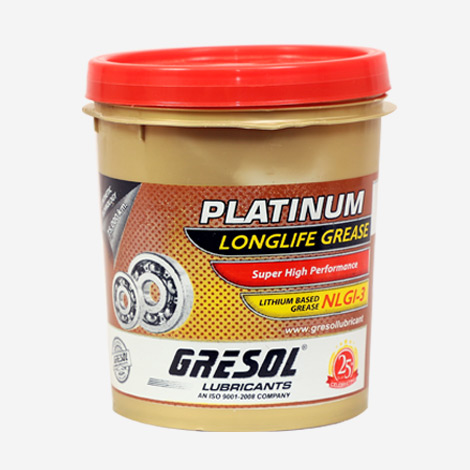 Gresol Platinum Longlife Grease