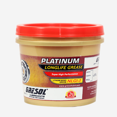 Greasol Platinum NLGI-3 Longlife Grease