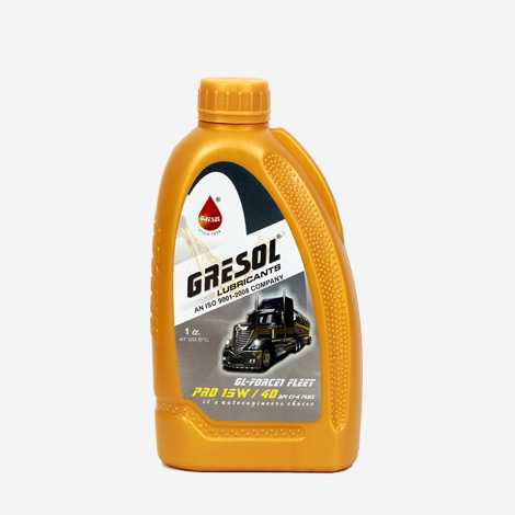 Gresol 15W40 API CI-4 Engine Oil