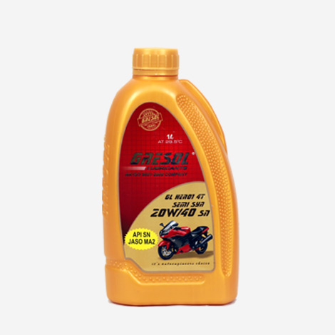 Gresol 20W40 SN Bike Engine Oil