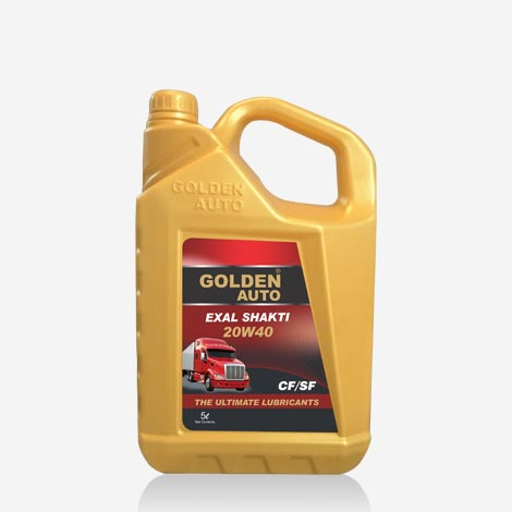 Golden Auto Exal Shakti Engine Oil