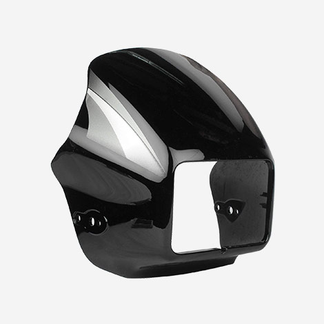 Carbbon Gold Hero Splender Headlight Visor