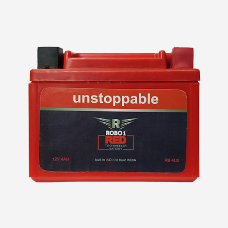 Robo 1 Red Two Wheeler Battery