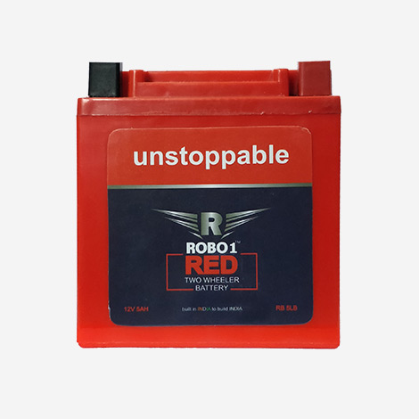 Robo1 Unstopable Two Wheeler Battery