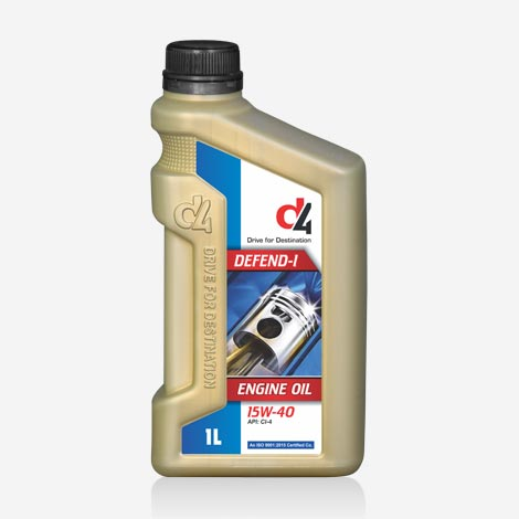 15W40 D4 DEFEND-I Engine Oil