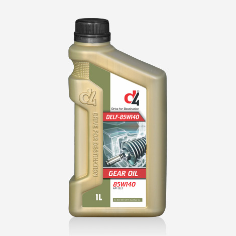 D4 API GL5 Gear Oil