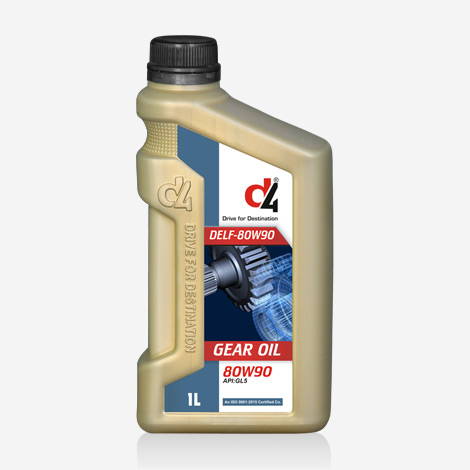 D4 DELF 80W-90 Gear Oil