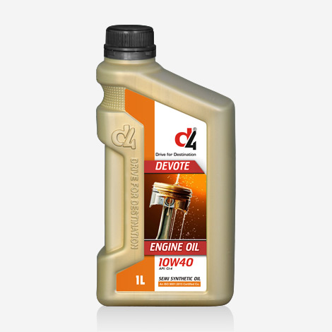D4 Semi Synthetic 10W-40 Engine Oil