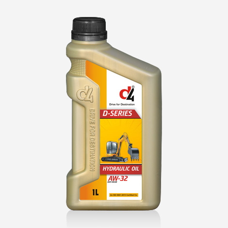 D4 Dseries AW-32 Hydraulic Oils
