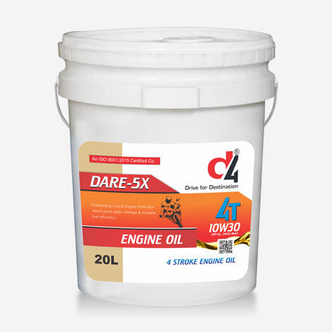 D4 4T Dare 5x Engine Oil