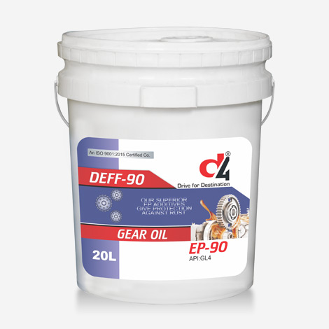 D4 EP-90 GL4 Gear Oil
