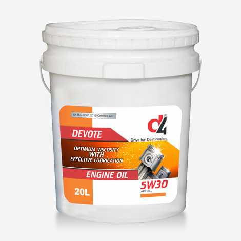 D4 5w30 Fully Synthetic Engine Oil