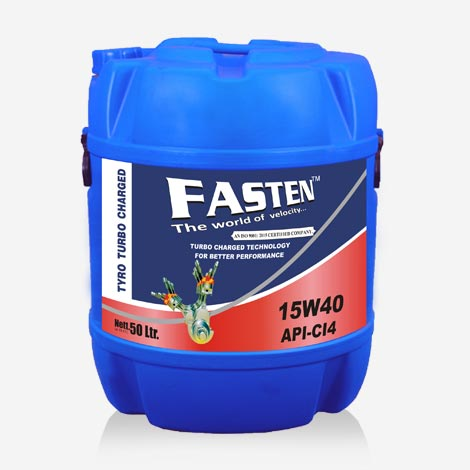 Fasten 50 Liter 15W40 CI-4 Engine Oil