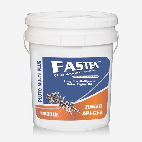 Fasten PLUTO Engine Oil