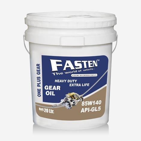 Fasten 85w140 API GL5 Gear Oil