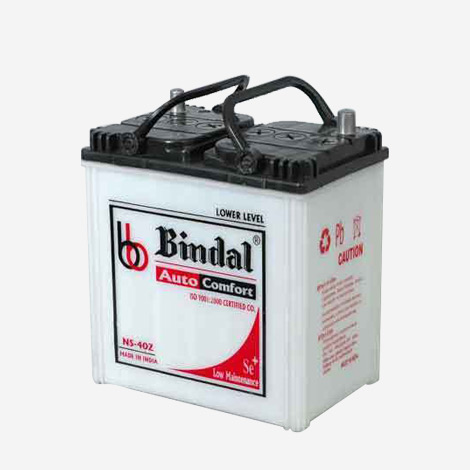 Bindal Auto Comfort NS-40Z Four Wheeler Battery