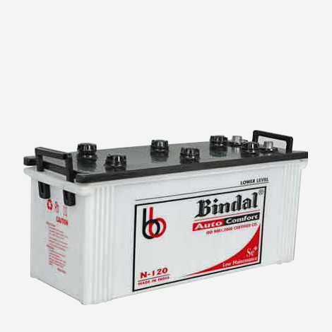 Bindal Truck Battery N-120 Battery