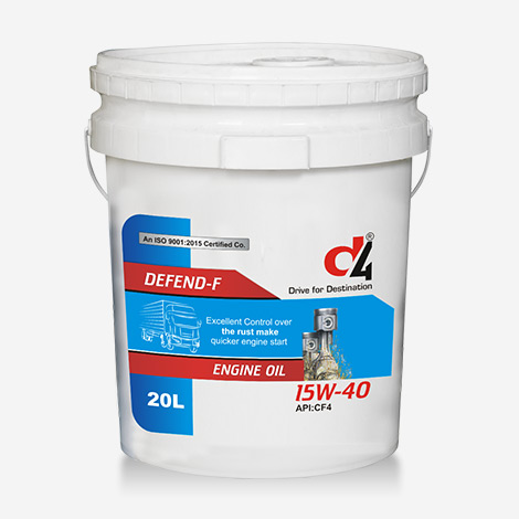 D4 15w40 Defend Engine Oil