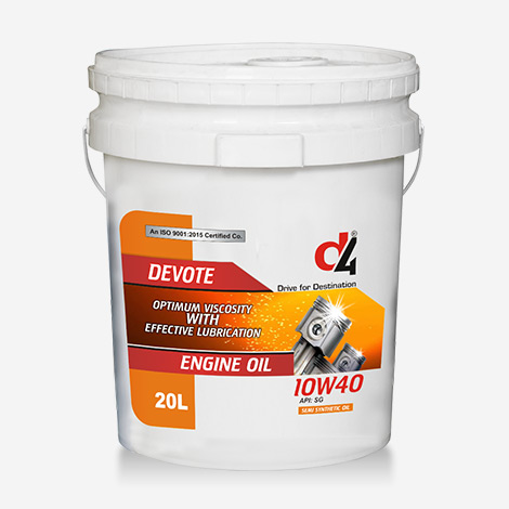 D4 DEVOTE 10W40 Engine Oil