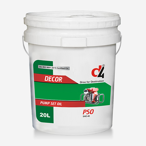 DECOR D4 Pump Set Engine Oil