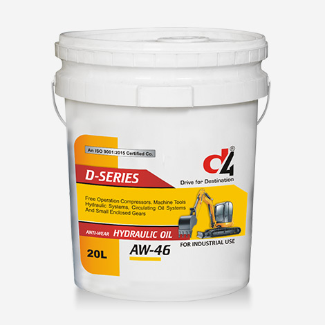 D4 Dseries AW-46 Hydraulic Oils