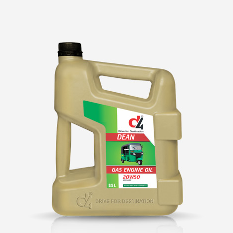 D4 Dean Gasoline CNG And LPG Engine Oil