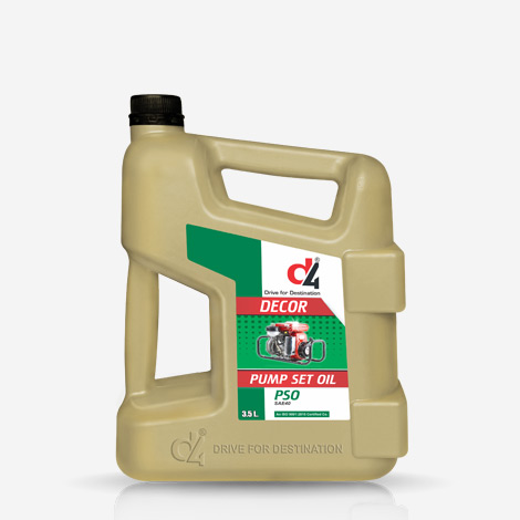 D4 Decor SAE 40 Pump Set Engine Oil