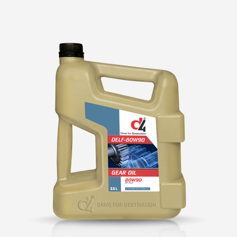 D4 80W90 Car Gear Oil