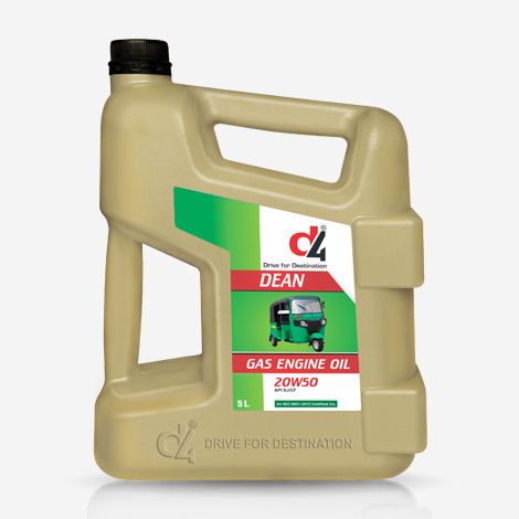 D4 CNG Engine Oil