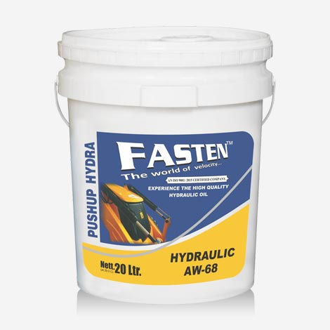 Fasten 20 Liter Push UP AW 68 Hydraulic Oil