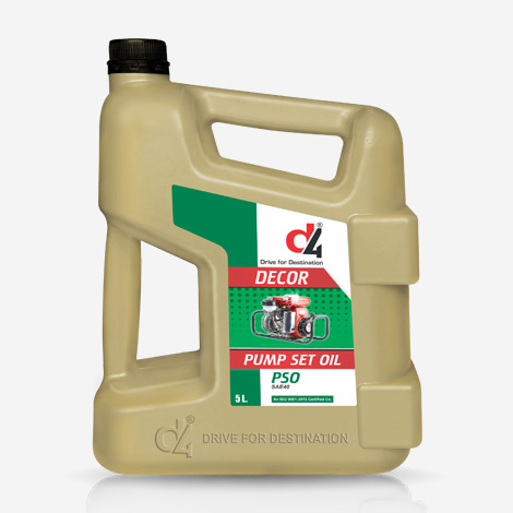 D4 Super pumpset 5 Liter Engine Oil