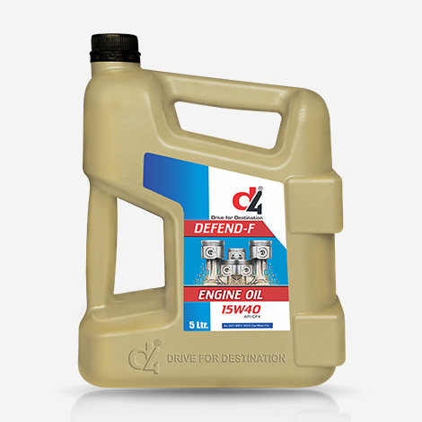D4 DEFEND F 15W40  CF-4 Engine Oil