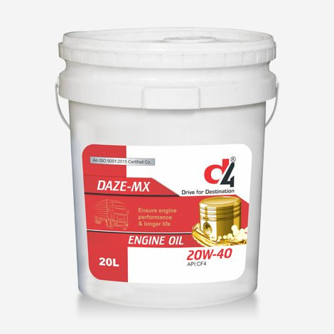 D4 DAZE-MX 20w40 Engine Oil
