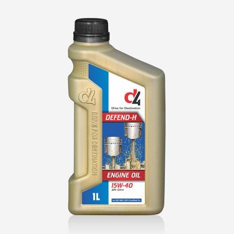 D4 Defend-H 15W40 Engine oil