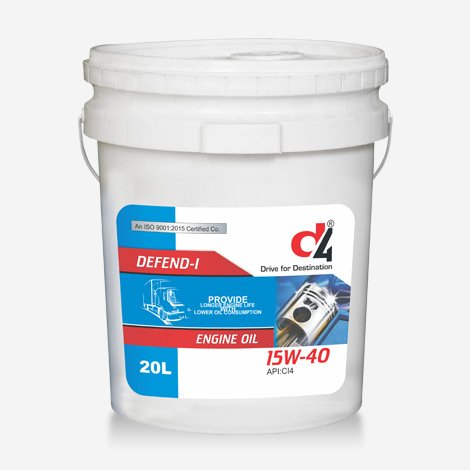 D4 Defend-I Engine Oil