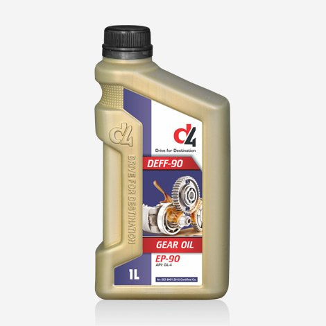 D4 Deff EP 90 Gear Oil