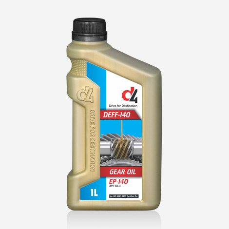 D4 Deff 140 Gear Oil