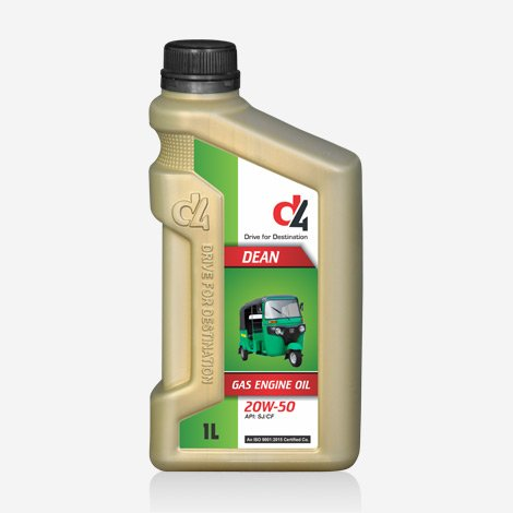 D4 Dean 2ow50 Multigrade CNG Oil