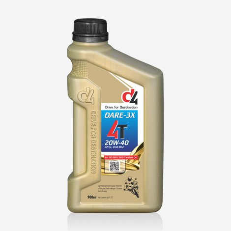 D4 1 Liter Dare 3x 20w40 Engine Oil